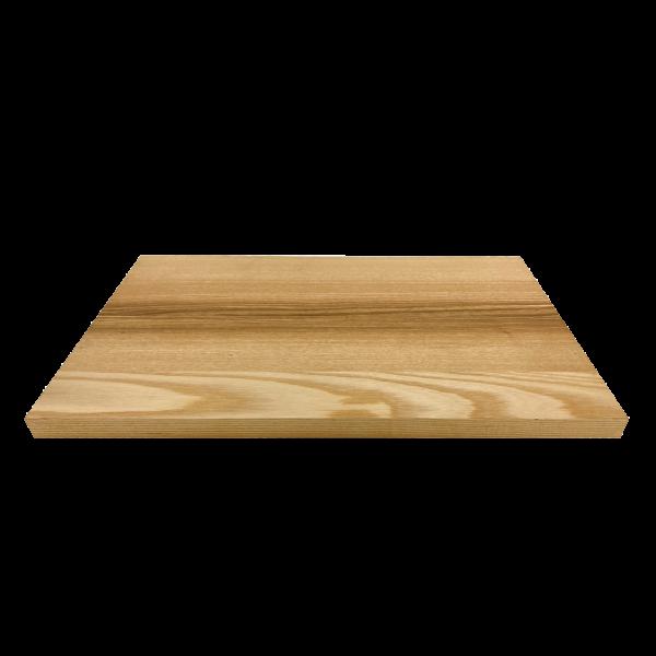 Schneidebrett M – Basic, Esche – 39 x 24 x 1.8 cm – Vorderseite
