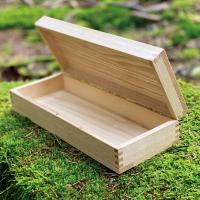 NaniBox S-Long – 30 x 12 x 7 – Vorderseite Offen im Wald