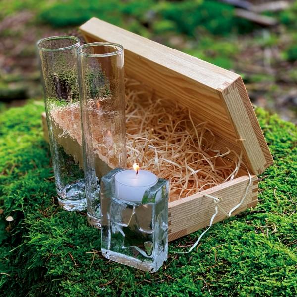 Geschenkidee N° 3: Gläserset Glasi Tête-à-Tête – im Wald Detail