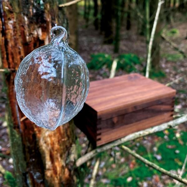 Geschenkidee N° 2: Glasi Baumusskugeln – im Wald Detail