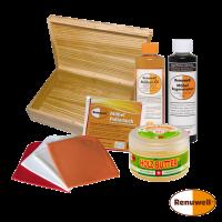 Set Holzpflegeset & NaniBox M Esche