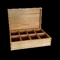 NaniBox M Holzbox mit Einlage aus Eiche